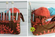 Organizing Tote Basket Free Sewing Pattern