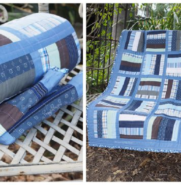 Repurpose Shirt into Quilt Free Sewing Pattern