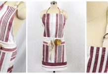 Tea Towel Apron Free Sewing Pattern