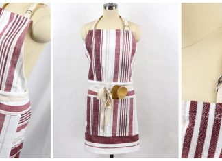 Tea Towel Apron Free Sewing Pattern