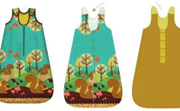 Baby Sleeping Bag Free Sewing Pattern