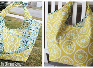 Beach Bag Free Sewing Pattern