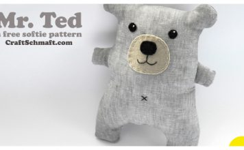 Mr. Ted Free Sewing Pattern