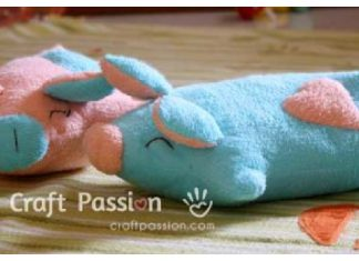 Piggy Pillow Free Sewing Pattern