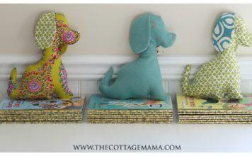 Puppy Dog Stuffed Animal Free Sewing Pattern