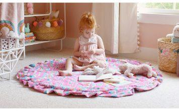Round Velvet Playmat Free Sewing Pattern