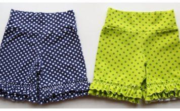 Ruffle Shorts Free Sewing Pattern