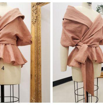 The Tecoma Blouse Free Sewing Pattern