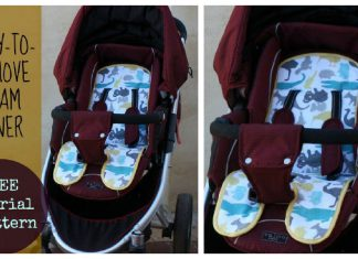 Easy to Remove Pram Liner Free Sewing Pattern