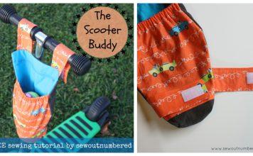 Scooter Buddy Free Sewing Pattern