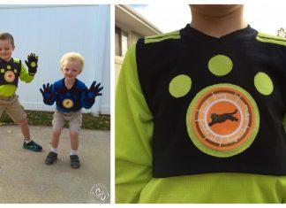Wild Kratt Costumes Free Sewing Pattern