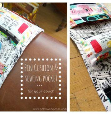 Arm Chair Pin Cushion Free Sewing Pattern