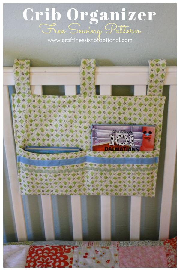 Crib Organizer Free Sewing Pattern