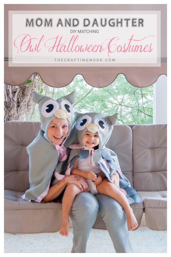 Owl Halloween Costume Free Sewing Pattern