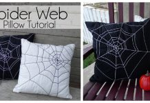 Spider Web Pillows Free Sewing Pattern
