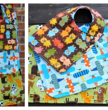 Bibs in All Sizes Free Sewing Pattern