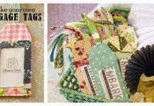 Luggage Tag Free Sewing Pattern